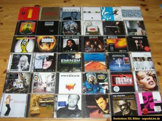 CD Sammlung Madonna,Lady Gaga,Sinatra,Nirvana,Queen,Genesis,Beatles