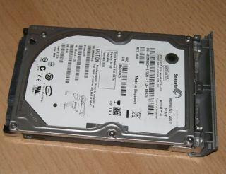 60GB HDD Festplatte Dell Latitude D620 + Einbaurahmen