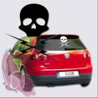 Aufkleber Death Proof Kult Tarantino Skull Totenkopf 75