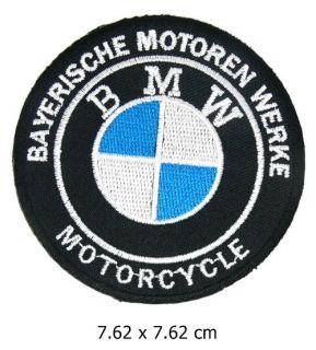 VM065 BMW Biker Motoren Motorcycle Aufnäher Patches