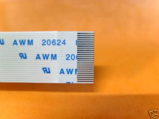 AWM 20624 RIBBON FLEX CABLE 0.50 mm pitch 18 PIN 60mm 18PIN