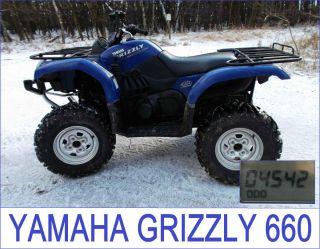 YAMAHA GRIZZLY 660 4x4 QUAD ATV 4X4 Allrad YFM 660 Special Edition