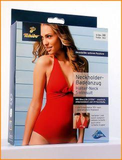 TCM Tchibo Badeanzug XtraLife LYCRA® UV Schutzfaktor 50+ Rot 36 38