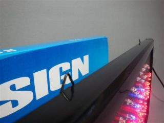 LED DISPLAY ,,Geöffnet,, Werbedisplay Werbeschild Leuchtreklame helle
