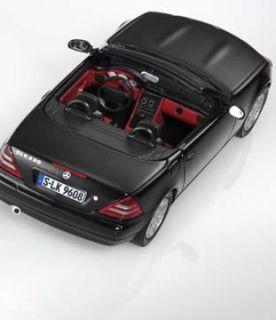 Original Mercedes Benz SLK R170 R 170 schwarz 143 Herpa Modellauto