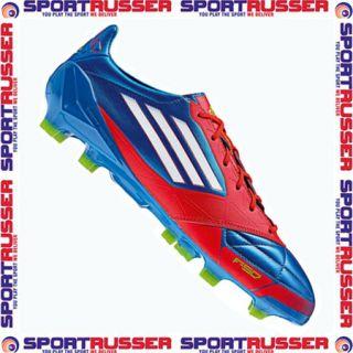 Adidas F50 Adizero TRX FG Leather blue/red/white