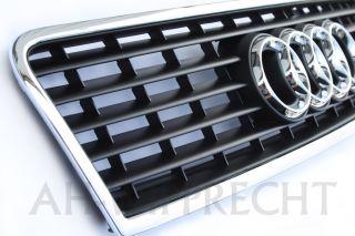 NEU Audi A6 V8 Grill Frontgrill Haube Gitter S6 RS6 4B V8 Kühlergrill