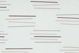 ROLLEN VLIES Tapete Sticks Weiß Silber Braun