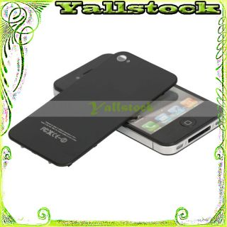 New Back Cover Housing Assembly Glass for iPhone 4 4G Black