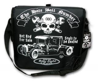 ★ Hot Rod Rockabilly Messenger Bag Tasche NEU Notebook Netbook 666