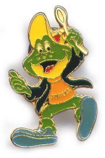KELLOGGS SMACKS (Frosch) Pin glasiert