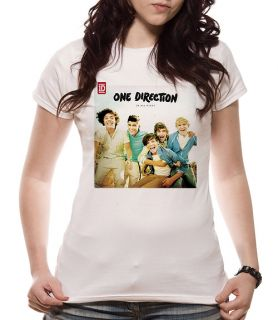 ONE DIRECTION Up all Night T Shirt Womens Girls Skinny S M L XL