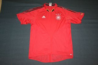 Shirt Trikot DFB Deutschland Team Schweinsteiger Rot GR L #667