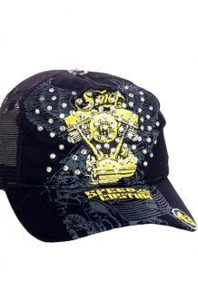 SMET by Christian Audigier Trucker Cap Hat Ed Hardy Tattoo NEU
