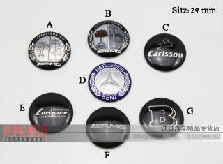 D671 Benz AMG Emblem für den Schaltknauf Auto Aufkleber Top car