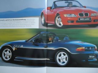 BMW Z 3er Z3 Roadser E36 Prospek brochure