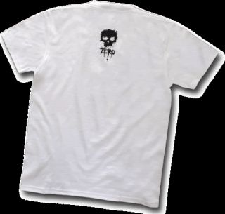 ZERO Skate T Shirt SLICED SKULL S,M,L OrIgInAlS ★