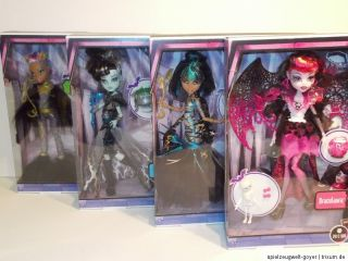 Monster High Mega Monsterparty Frankie Stein Cleo Clawdeen Wolf