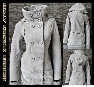 Coole Ganeder Damen Fleece Jacke 38 Winter Mantel Übergangsjacke