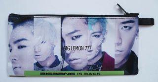 Bigbang BIG BANG Zipper Pen Pencil Case Bag Pouch P22