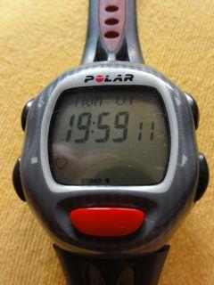 Polar Pulsuhr S710 S 710 Herzfrequenz Messgerät incl. Speed Sensor