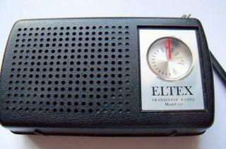 Eltex 707 AM pocket Radio 1970 Taschenradio Radio Miniradio