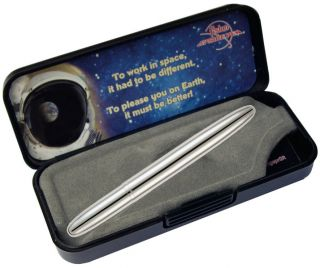 Fisher Space Pen Bullet Space Pen chrom Kugelschreiber Raumfahrt