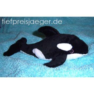 PLÜSCHTIER SCHWERTWAL Plüschorca Plüsch Orca Wal 009363