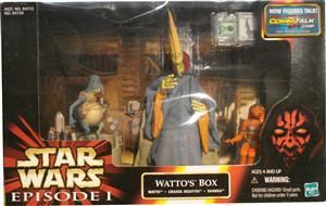Star Wars Episode 1 Wattos Box *NEU*