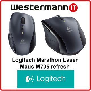 Logitech Wireless Laser Mouse M705 Marathon (910 001950) 2,4 GHz