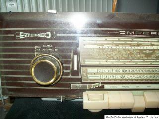 Musiktruhe Einsatz Röhrenradio ECL 86 Telefunken Stereo Imperial Hifi