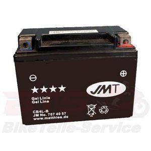 Motorradteile: Motorrad Batterie YB4L B GEL JMT Beta Ark 50 AC,LC,LC K