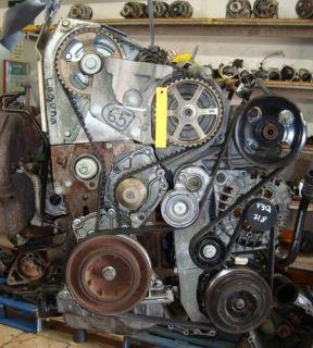 Motor RENAULT LAGUNA 1,9DCI 79KW Motorkennbuchstaben F9Q718 & Bj.99