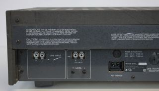 REVOX B 710 MK II microcomputer controlled Cassette Tape Deck