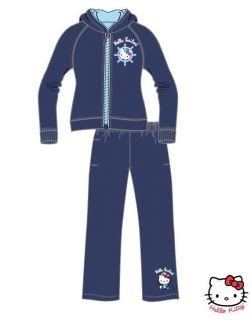 Hello Kitty Jogginganzug Jogging Sport Anzug Jacke Hose Gr. 92 + 98