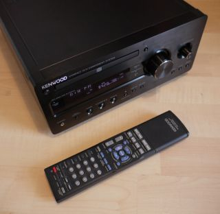 Kenwood K 711 B, CD Stereo Receiver, Stereoanlage schwarz TOP R K711