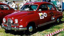 Vintage Corgi D711 Saab Sport 96 Diecast Model in 143 Scale.