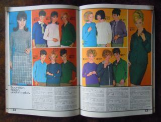Katalog Konsument Versandhaus DDR 1967 Mode Haushalt Möbel Werkzeug