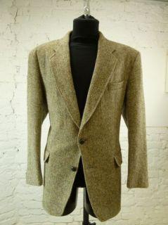 Harris Tweed Sakko, Jacket, Blazer, Gr. 26/27, Size L (HT715)