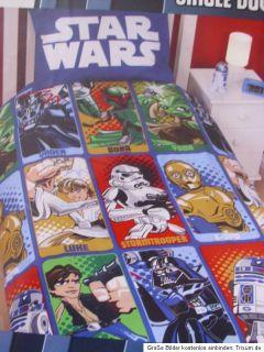 Disney Cars 2 / Star Wars Clone Wars Bettwäsche 135X200 NEU XXL