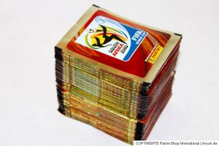 Panini WC WM 2010 South Africa – 100 TÜTEN PACKETS bustine sobres