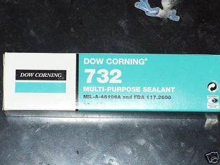 Dow Corning 732 Silikonkleber, Silikonmasse 90ml, weiß
