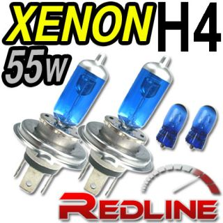 Xenon High/Low Beam Bulbs H4 HYUNDAI Accent Hatchback