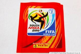 Panini WC WM 2010 South Africa – 1 x Tüte packet bustina sobre