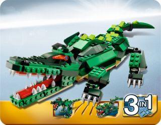 LEGO Creator Krokodil 3in1 Set Nr.5868 Neu