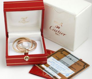 XXL les must de Cartier Trinity 750 Gold Ring Herrenring & Damenring