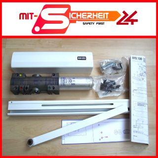 Türschließer G U/BKS OTS 730 silber (neu) mit Gleitschiene für