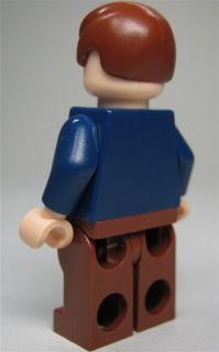 LEGO Star Wars Figur Han Solo (offene Jacke, aus Bausatz 8129) mit