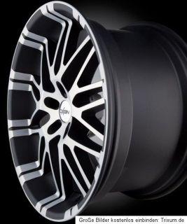 OXIGIN 14 OXROCK Gun Metal Full Polish 5X112 Mercedes Audi VW 8,5X19