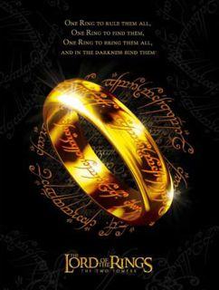 Herr der Ringe Der Eine Ring Arwens Abendstern Kette Elven Blatt